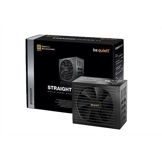 Boîtier PC Be Quiet Silent Base 801 TG Orange + Straight Power 11 750W + DARK ROCK 4 - Autre vue