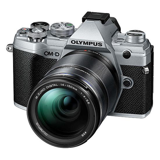 Appareil photo hybride Olympus E-M5 Mark III Argent + 14-150 mm Noir - Autre vue