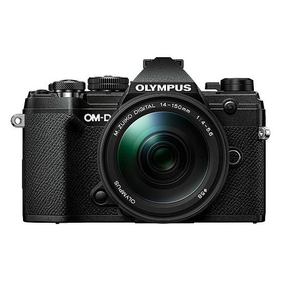 Appareil photo hybride Olympus E-M5 Mark III Noir + 14-150 mm Noir