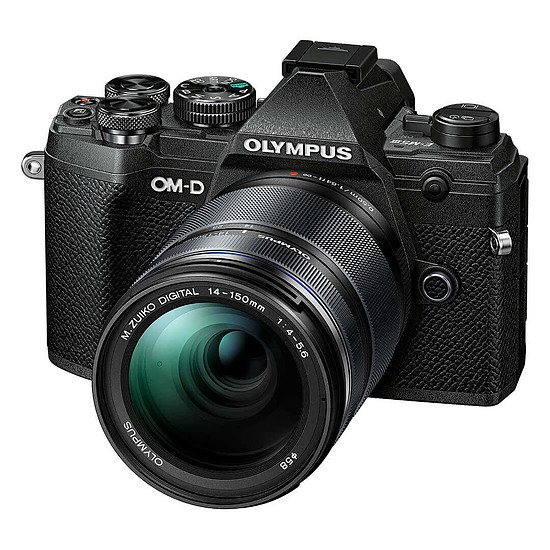 Appareil photo hybride Olympus E-M5 Mark III Noir + 14-150 mm Noir - Autre vue