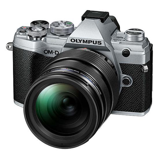 Appareil photo hybride Olympus E-M5 Mark III Argent + 12-40 mm Noir