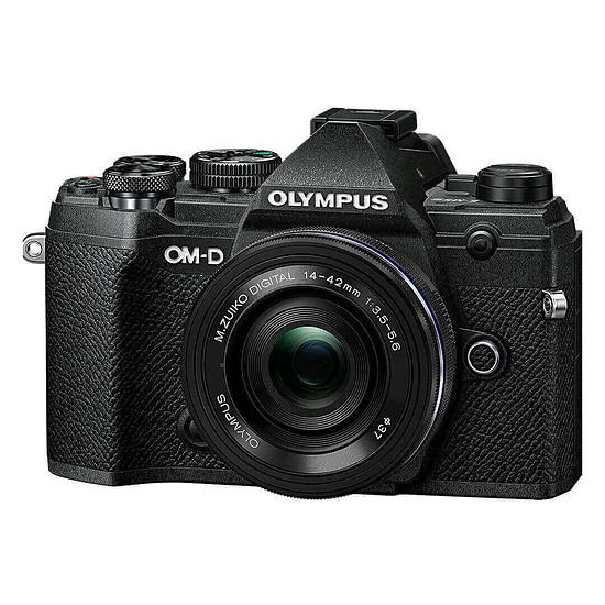 Appareil photo hybride Olympus E-M5 Mark III Noir + 14-42 mm Noir