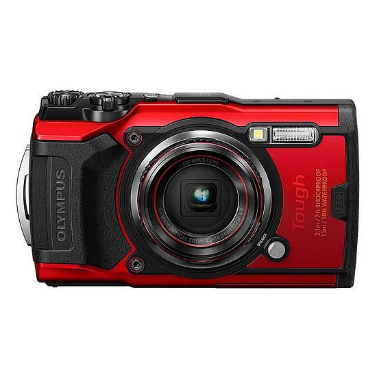 Appareil photo compact ou bridge Olympus TG-6 Rouge + LG-1