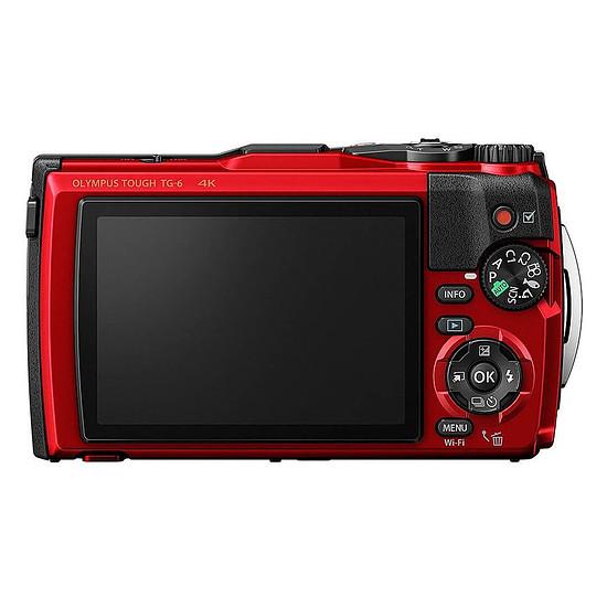 Appareil photo compact ou bridge Olympus TG-6 Rouge + LG-1 - Autre vue