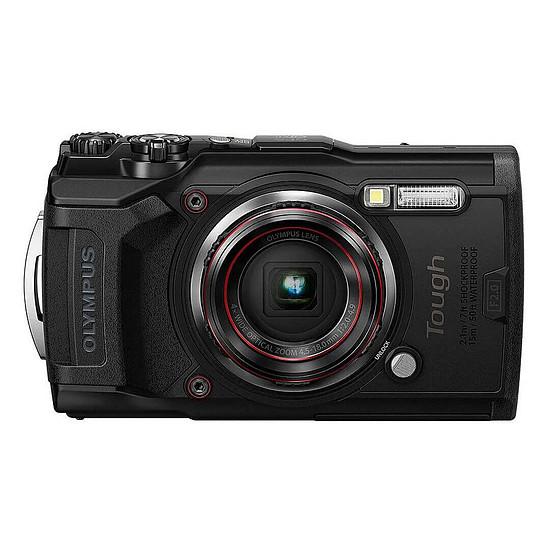 Appareil photo compact ou bridge Olympus TG-6 Noir + LG-1
