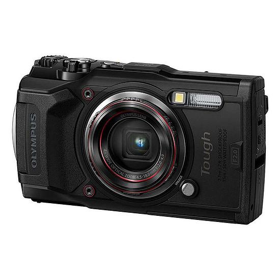 Appareil photo compact ou bridge Olympus TG-6 Noir + LG-1 - Autre vue