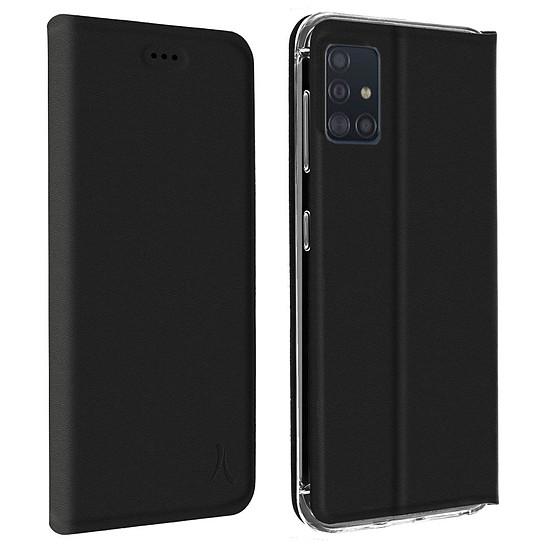 Coque et housse Akashi Etui Folio (noir) - Samsung Galaxy A71 - Autre vue