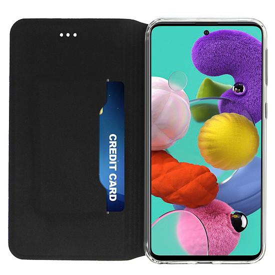 Coque et housse Akashi Etui Folio (noir) - Samsung Galaxy A51