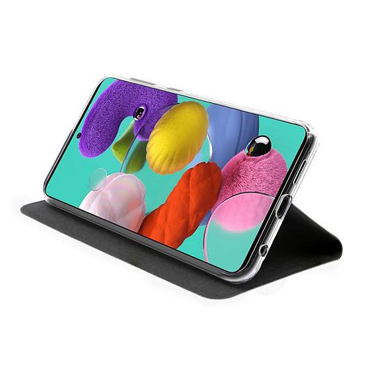 Coque et housse Akashi Etui Folio (noir) - Samsung Galaxy A51 - Autre vue