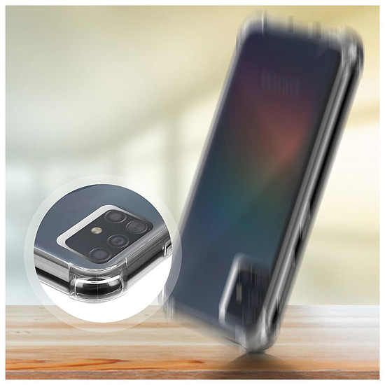Coque et housse Akashi Coque TPU Angles Renforcés - Samsung Galaxy A51 - Autre vue