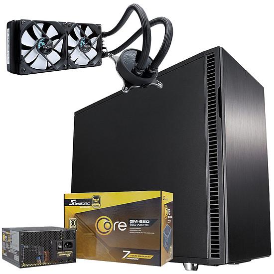Boîtier PC Fractal Design Define R6 Black + Seasonic Core GM-650 + CELSIUS S24