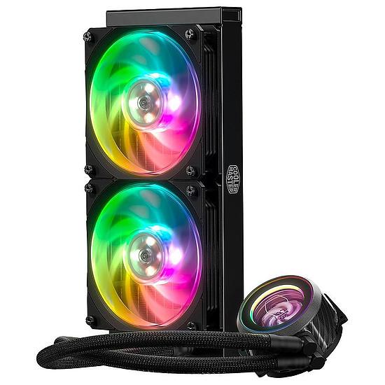 Boîtier PC Cooler Master MasterCase H500M + V550 Gold + MasterLiquid ML240P Mirage - Autre vue