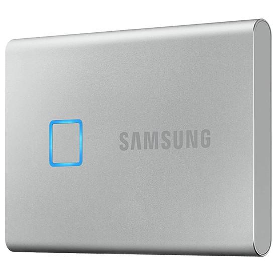 Disque dur externe Samsung T7 Touch Silver 500 Go