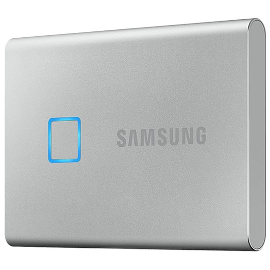 Disque dur externe Samsung T7 Touch Silver 2 To