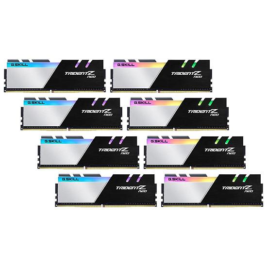 Mémoire G.Skill Trident Z Neo DDR4 8 x 32 Go 2666 MHz CAS 18 Ryzen Edition