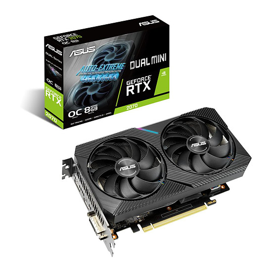 Carte graphique Asus GeForce RTX 2070 Dual Mini OC