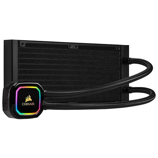 Refroidissement processeur Corsair iCue H100i RGB PRO XT - Autre vue