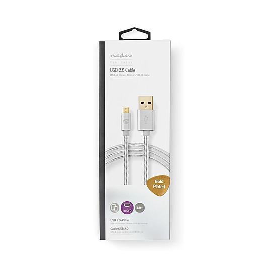 USB Cable USB 2.0 vers Micro-USB - 3 m - Autre vue