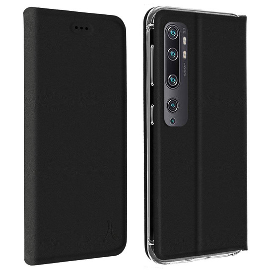 Coque et housse Akashi Paris Etui folio (noir) - Xiaomi Mi Note 10 - Autre vue