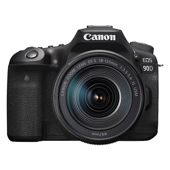 Appareil photo Reflex Canon EOS 90D + 18-135mm IS USM