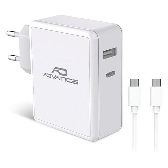 Chargeur Chargeur mural ports USB-C et USB-A - 45W