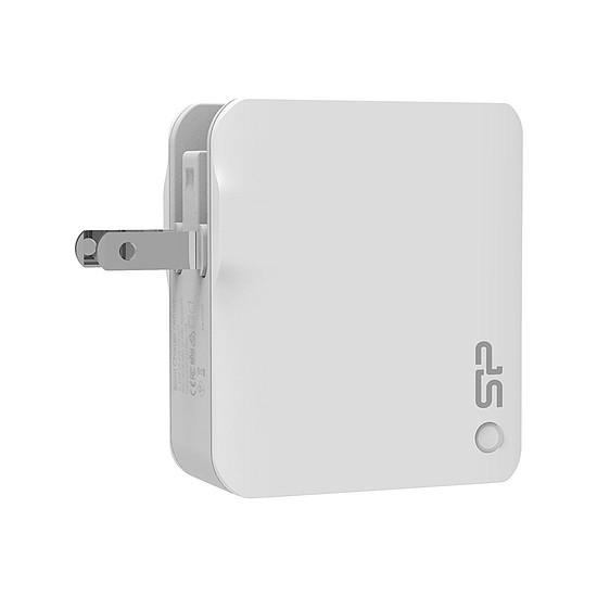 Chargeur Chargeur mural USB 4 ports fournit avec 3 prises (WC104P) - Autre vue