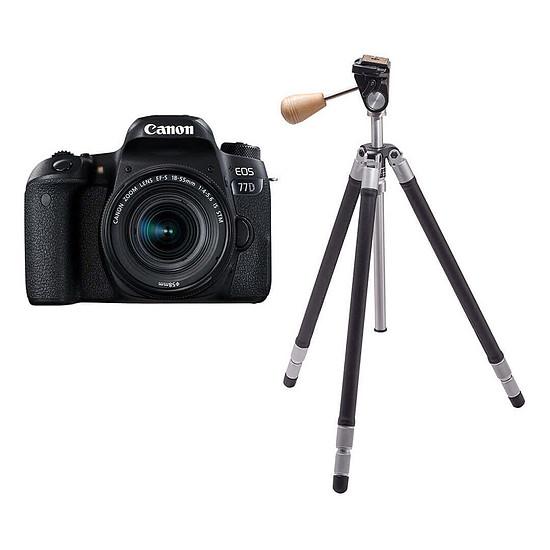 Appareil photo Reflex Canon EOS 77D + 18-55 IS STM + Cokin T-RIV101 Riviera Classic
