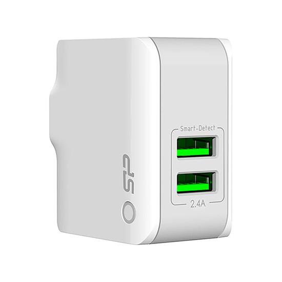 Chargeur Chargeur mural USB 2 ports fournit avec 3 prises (WC102P)