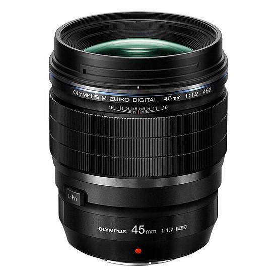 Objectif pour appareil photo Olympus M.Zuiko Digital ED 45mm f/1.2 PRO