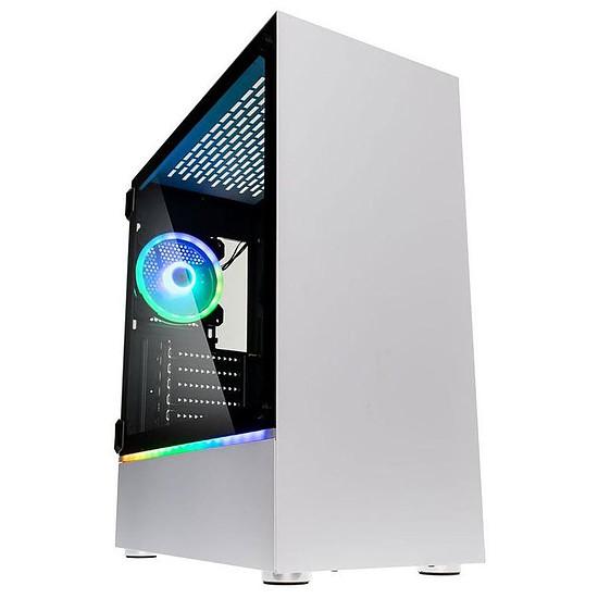 Boîtier PC Kolink Bastion RGB - Blanc