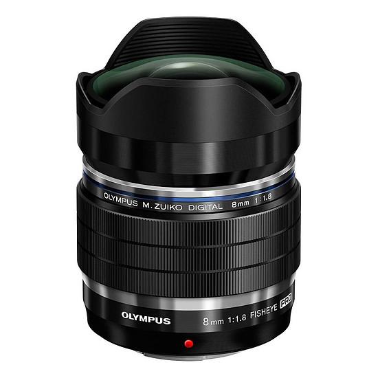 Objectif pour appareil photo Olympus M.Zuiko Digital ED 8mm f/1.8 Fisheye PRO