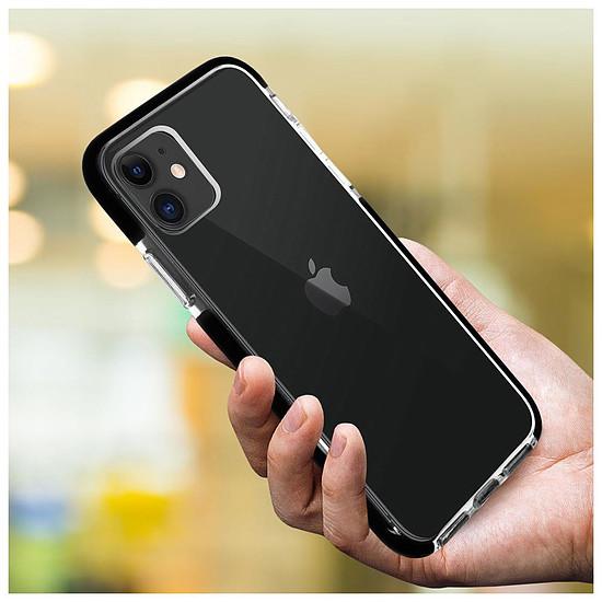 Coque et housse Akashi Coque (transparent) avec bordures noires renforcées - Apple iPhone 11 - Autre vue