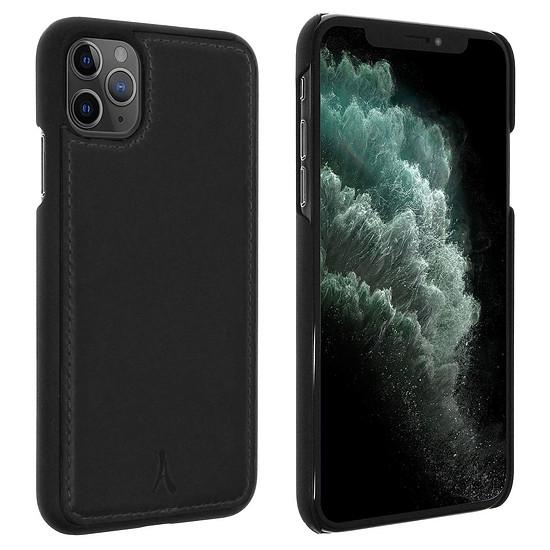 Coque et housse Akashi Coque cuir (noir) - Apple iPhone 11 Pro Max