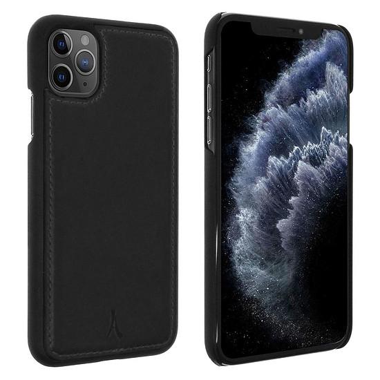 Coque et housse Akashi Coque cuir (noir) - Apple iPhone 11 Pro