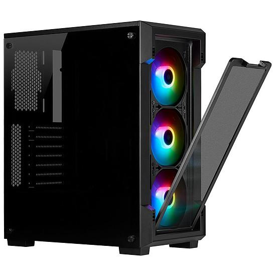 Boîtier PC Corsair ICUE 220T RGB Tempered Glass - Noir - Autre vue