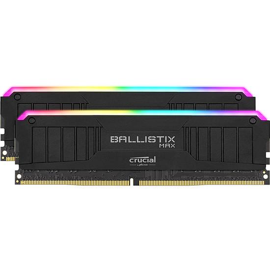 Mémoire Ballistix MAX RGB - 2 x 8 Go (16 Go) - DDR4 4000 MHz - CL18
