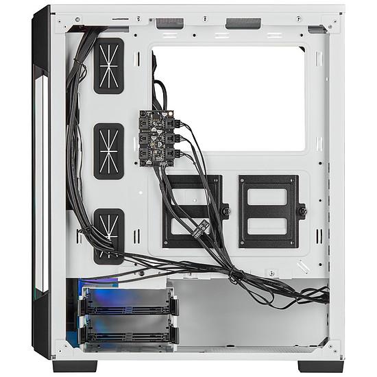 Boîtier PC Corsair ICUE 220T RGB Tempered Glass - Blanc - Autre vue