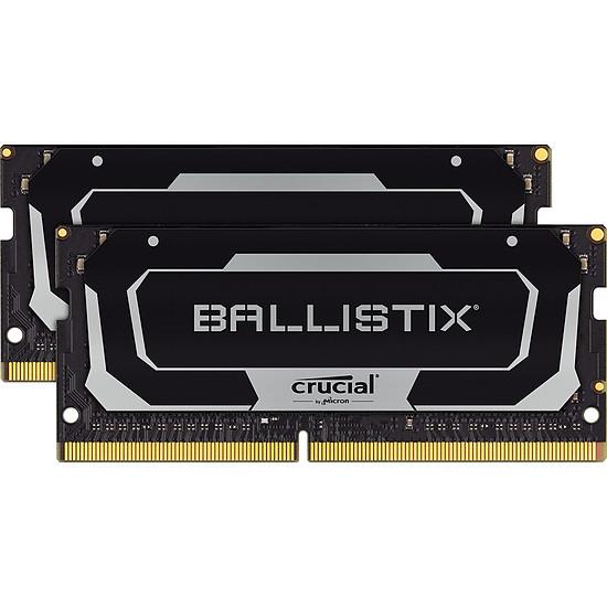 Mémoire Ballistix SODIMM - 2 x 8 Go (16 Go) - DDR4 2666 MHz - CL16