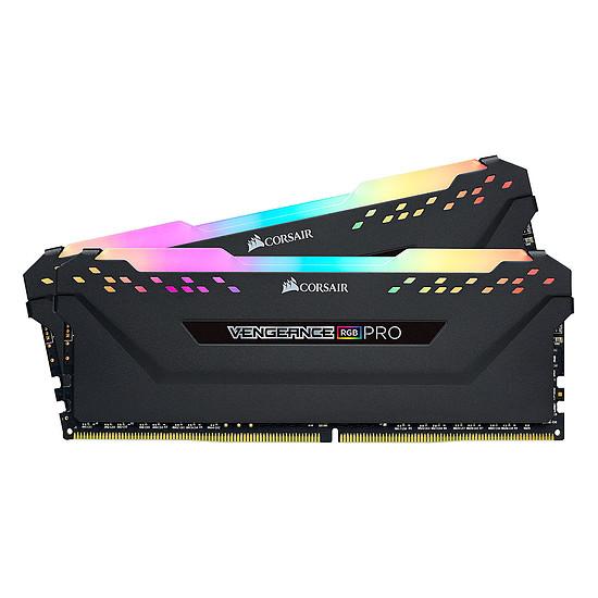 Mémoire Corsair Vengeance RGB Pro - 2 x 32 Go (64 Go) - DDR4 3200 MHz - CL16