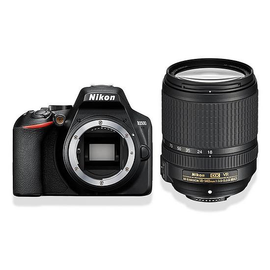 Appareil photo Reflex Nikon D3500 + AF-S DX NIKKOR 18-140mm f/3.5-5.6G ED VR