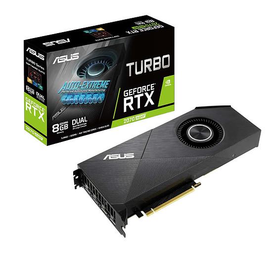 Carte graphique Asus GeForce RTX 2070 SUPER Turbo EVO