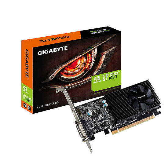 Carte graphique Gigabyte GeForce GT 1030 Low Profile 2G