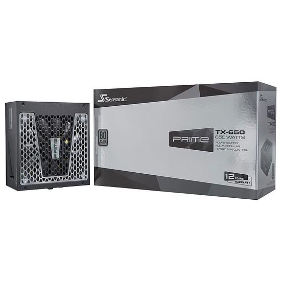Alimentation PC Seasonic Prime TX-650 - Titanium