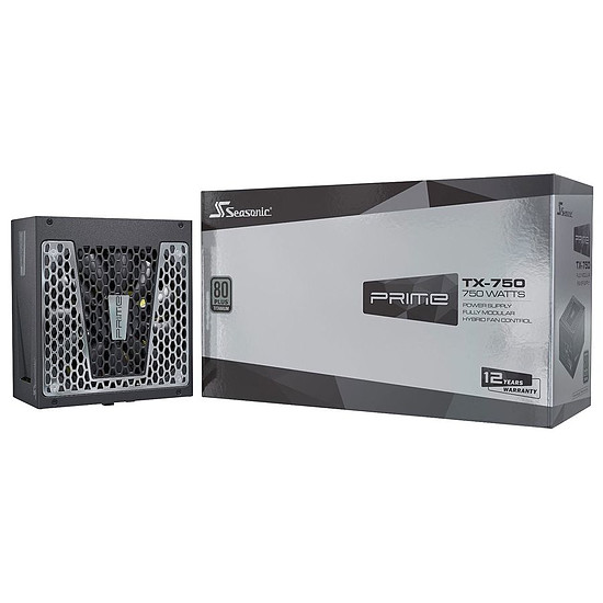 Alimentation PC Seasonic Prime TX-750 - Titanium