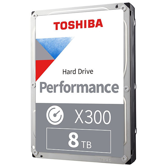 Disque dur interne Toshiba X300 - 8 To - 256 Mo