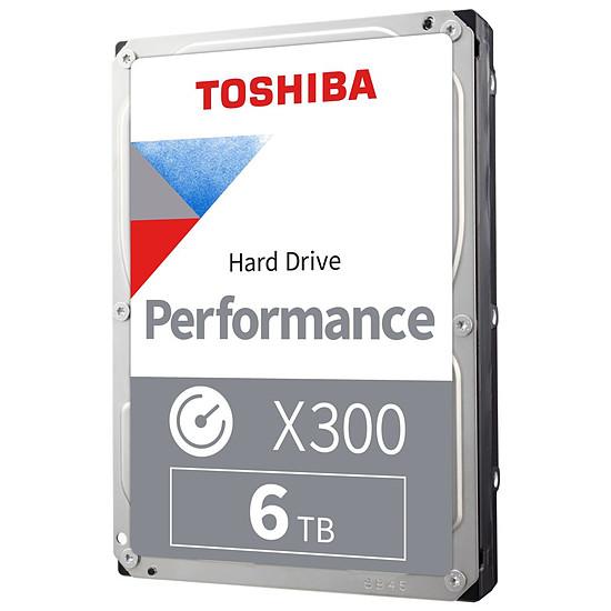 Disque dur interne Toshiba X300 - 6 To - 128 Mo