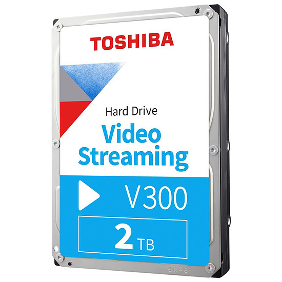 Disque dur interne Toshiba V300 - 2 To - 64 Mo