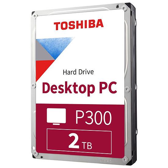 Disque dur interne Toshiba P300 - 2 To - 64 Mo