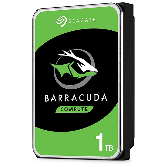Disque dur interne Seagate BarraCuda - 1 To - 64 Mo