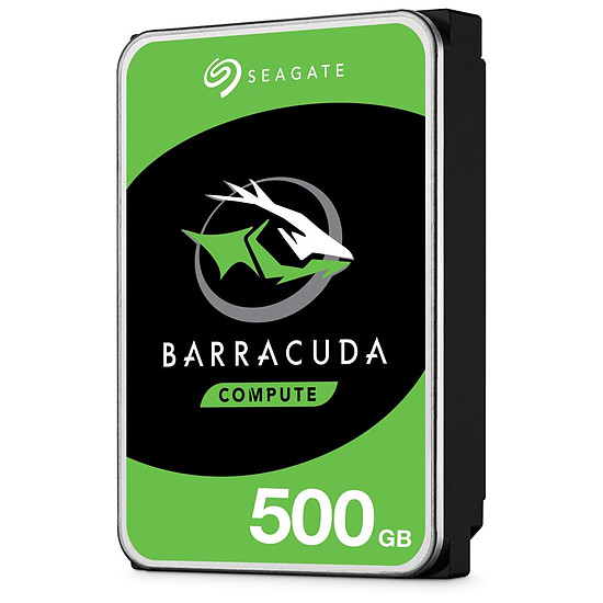 Disque dur interne Seagate BarraCuda - 500 Go - 32 Mo